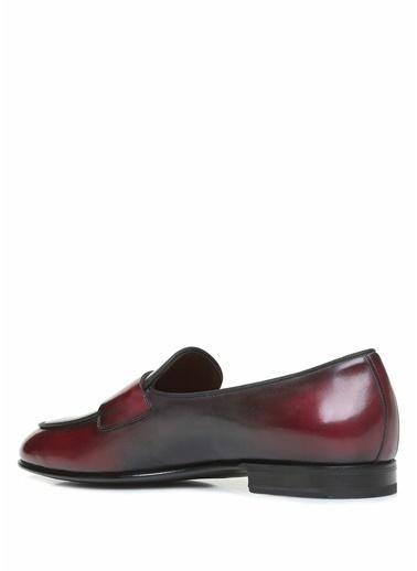 Santoni Ayakkabı Bordo